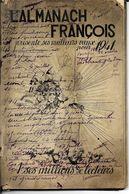 L' ALMANCH FRANCOIS  Presente Ses Meilleurs  VOEUX  POUR 1941 à SES MEILLEURS LECTEURS - Autres