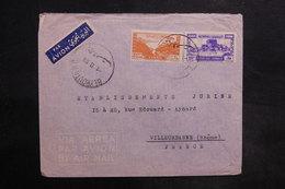 LIBAN - Affranchissement De Beyrouth Sur Enveloppe Commerciale Pour La France En 1950 - L 35489 - Lebanon