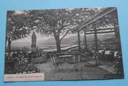 Terrasse De L'Hôtel Bellevue ( 2476 ) Anno 1907 ( Voir/see Photo ) ! - Remich