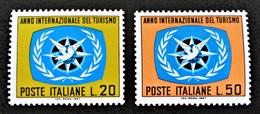 ANNEE INTERNATIONALE DU TOURISME 1967 - NEUFS ** - YT 985/86 - MI 1243/44 - 1946-.. République