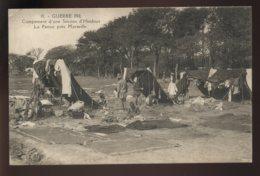 GUERRE 14/18 - TROUPES HINDOUES - LA PENNE (BOUCHES-DU-RHONE) - CAMPEMENT D'UNE SECTION D'HINDOUS - Guerre 1914-18