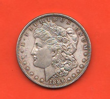 USA Dollaro Morgan 1886 United States Of America Silver Dollar - Emissioni Federali