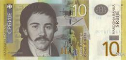 Serbie 10 Dinara (P46) 2013 -UNC- - Serbia