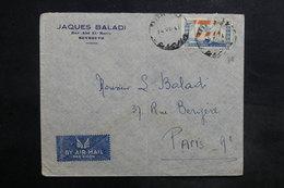 LIBAN - Affranchissement De Beyrouth Sur Enveloppe Commerciale Pour La France - L 35490 - Lebanon