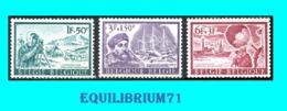1391/1393** Expédition Antarctiques-Zuidpolexpedities - BELGIQUE - BELGIË - Géographie