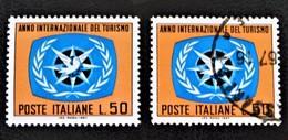 ANNEE INTERNATIONALE DU TOURISME 1967 - NEUF ** + OBLITERE - YT 986 - MI 1244 ( - 1946-.. République