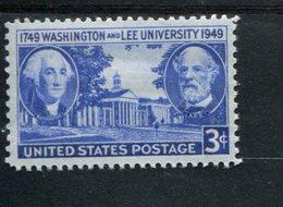 802626848 1949 SCOTT 982 POSTFRIS MINT  NEVER HINGED EINWANDFREI (XX) WASHINGTON AND LEE UNIVERSITY  ISSUE - Etats-Unis