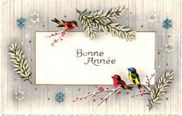 "MIGNONNETTE ""BONNE ANNEE"" OISEAUX REF 60418 - Birds"