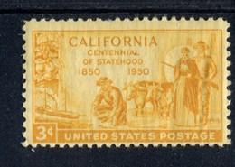 802632095 1950 SCOTT 997 POSTFRIS MINT  NEVER HINGED EINWANDFREI (XX)  CALIFORNIA STATEHOOD ISSUE - Etats-Unis