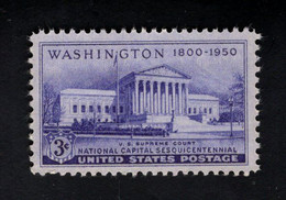 802632479 1950 SCOTT 991 POSTFRIS MINT  NEVER HINGED EINWANDFREI (XX)  NATIONAL CAPITAL SESQUICENTENNIAL ISSUE - Etats-Unis
