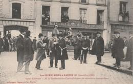 Rare Cpa Nantes Les Inventaires Du 27 Novembre 1906 Hôtel Du Grand Monarque - Nantes