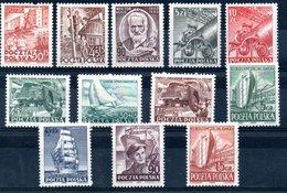 Pologne / Lot De Timbres / Etats Divers - Collections