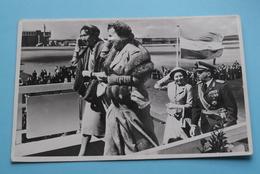 Aankomst LUXEMBURGSE VORSTEN Op SCHIPHOL / Royal Family Arrived In Holland ( Uitg. Takken ) Anno 1956 ( Zie Foto ) ! - Grand-Ducal Family