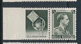 BELGIUM COB PU105 LH - Advertising