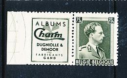 BELGIUM COB PU107 LH PIN HOLE - Pubblicitari
