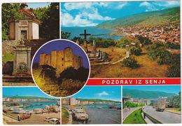 Senj: FORD TAUNUS 17M P3, FIAT 500, VW 1200 KÄFER/COX, DKW JUNIOR, PEUGEOT 404, CARAVAN - FERRY - (Croatia, YU.) - Toerisme