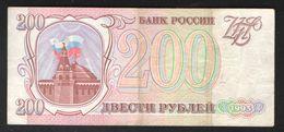 RUSSIA 200 Rubles 1993 - Russia
