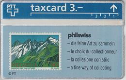 SUISSE - PHONE CARD - TAXCARD-PRIVÉE ***  PHILSWISS / 4 *** - Schweiz