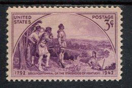 802639346 1942 SCOTT 904 POSTFRIS MINT  NEVER HINGED EINWANDFREI (XX)  KENTUCKY STATEHOOD 150TH ANNIV - Etats-Unis