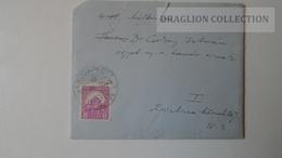 ZA214.9 Hungary  Cover  - Handwritten Letter Horváth Barna - 1929 -to Dr. Csekey István Egy.t. - Lettere