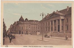 51 - REIMS (Marne) - Place Du Maréchal-Foch - Palais De Justice - Voitures - Années 20-30 - Reims