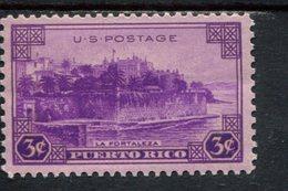 802641314 1937 SCOTT 801 POSTFRIS MINT  NEVER HINGED EINWANDFREI (XX)  TERRITORIAL ISSUES LA FORTALEZA SAN JUAN - Etats-Unis