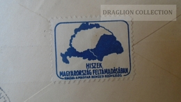 ZA214.10 Hungary  Cover  - DUNAVECSE - PORTÓ -Postage Due - 1939 -Irredenta - To Dr.Csekey István Egy. Prof. - Lettere