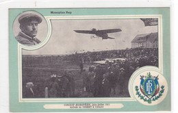 Monoplan Rep - Circuit Européen, Juin-juillet 1911 - Arrivée De Gibert à Utrecht - ....-1914: Vorläufer