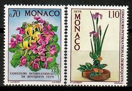 Monaco 1974 / Flowers MNH Blumen Flores Fleurs / Cu14116  41-3 - Vegetales
