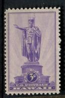 802642733 1937 SCOTT 799 POSTFRIS MINT  NEVER HINGED EINWANDFREI (XX)  TERRITORIAL ISSUES HAWAI - Etats-Unis