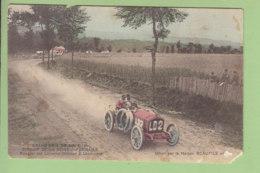 Grand Prix Circuit Seine Inférieure : Rougier Sur Lorraine Dietrich à Londinière. 2 Scans. En L'état - Cartes Postales