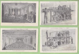 Publicité Pour Le Journal, Paris : 8 CPA Par Illustrateur. 3 Scans. - Advertising