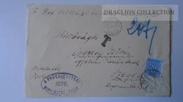ZA214.13 Hungary   Cover  - Sárkeresztúr Ref. Egyh. 1940 PORTO Postage Due - To Dr.Csekey István Egy. Prof. WWII - Lettere
