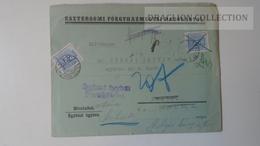 ZA214.14 Hungary   Cover  - ESZTERGOM Főegyh. Hatóság. 1939  PORTO Postage Due - To Dr.Csekey István Egy. Prof. Úton Van - Lettere