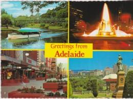 Greetings From Adelaide Multiview, South Australia - Unused - Adelaide