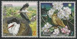 "UCRANIA / UKRAINE -EUROPA 2019 -NATIONAL BIRDS.-""AVES -BIRDS -VÖGEL-OISEAUX""- SERIE N - 2019"