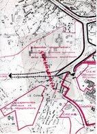 87 - LIMOGES CARTE UER MEDECINE PHARMACIE- ENSEMBLE UNIVERSITAIRE -HOPITAL DUPUYTREN- CHU - Cartes Topographiques