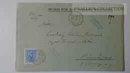 ZA214.18 Hungary Cover - BICSKE R. Kat. Pl.  PORTO Postage Due - To Dr.Csekey István Egy. Prof. Genealogy Pécsvárad - Lettere