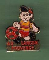FOOT *** AS LANCON DE PROVENCE *** 1031 - Football