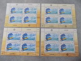Blocs Feuillets (4) Neuf Bahamas 2006 : Cinquantenaire Du Timbre EUROPA CEPT - Autres
