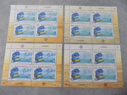Blocs Feuillets (4) Neuf Bahamas 2006 : Cinquantenaire Du Timbre EUROPA CEPT - Europa-CEPT