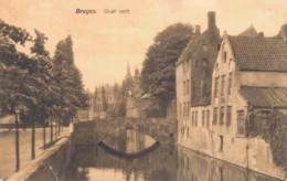 BELGIQUE BRUGES QUAI VERT CIRCULEE 1909 - Brugge