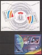 N715 2004,2008 ROMANIA INFORMATION TECHNOLOGY COMPUTER RADIO 80 YEARS 2KB MNH - Informatik