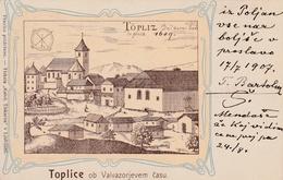 SLOVENIA POSTCARDS TOPLICE - Slovenia