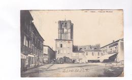 CPA DPT 34 AGDE, PLACE DE L EVECHE En 1914! (voir Tampon Militare) - Agde