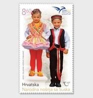 Kroatië / Croatia - Postfris/MNH - Pumed, Traditionele Klederdracht 2019 - Kroatië
