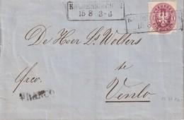 PREUSSEN 1866 LETTRE DE KALDENKIRCHEN POUR VENLO - Preussen