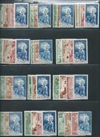 COLONIES FRANCAISES : Série Complète 83 Timbres Neufs ** De 1942. Protection Enfance Et Quinzaine Impériale. Cote 124 €. - Collections (without Album)
