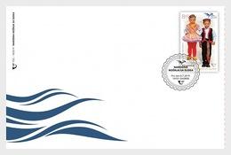 Kroatië / Croatia - Postfris/MNH - FDC Pumed, Traditionele Klederdracht 2019 - Kroatië