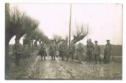 VELDWEZELT Weltkrieg Deutsche Soldaten Militär 1916 Grenze Border Stacheldraht Elektrischer Zaun Wache - Lanaken